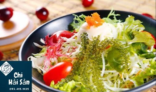 Salat rong nho