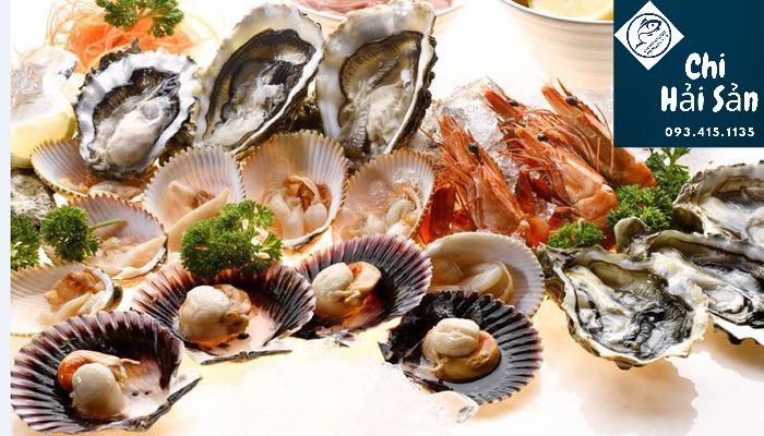 Các loại hải sản từ cửa hàng