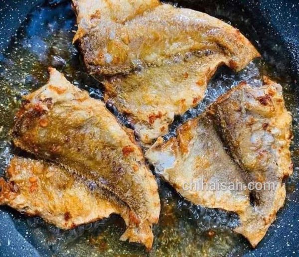 Khô cá chấy tỏi
