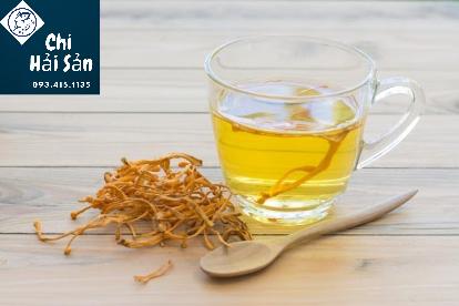 Đông trùng hạ thảo khô dùng pha trà