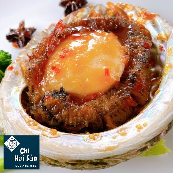 Món bào ngư nướng
