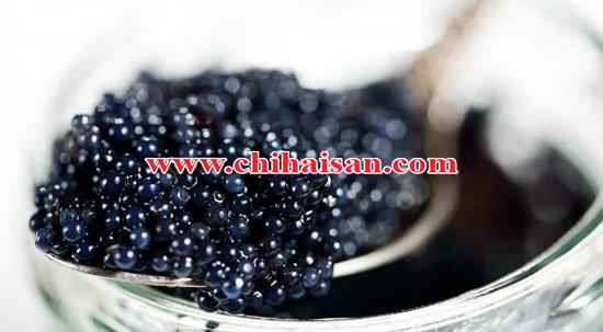 Trứng cá tầm đen Caviar