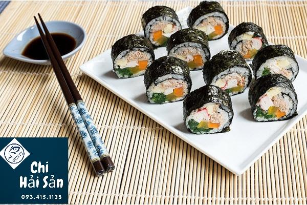 Món ăn Hàn từ rong biển
