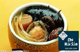 bào ngư vi cá hải sâm