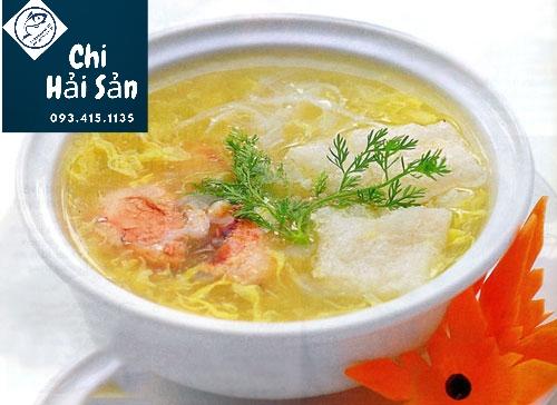 Soup bóng cá