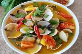 Sò nấu canh chua