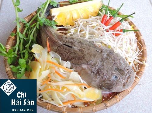 Nguyên liệu nấu canh chua cá bùng binh