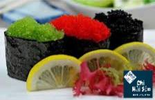 Trứng cá chuồn đỏ , xanh, đen
