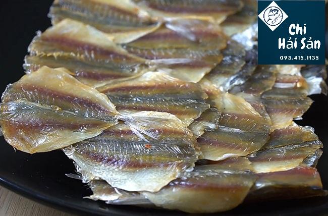 Cá chỉ vàng khô xuất khẩu tại Chihaisan