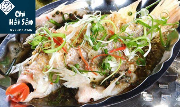 Món cá hồng hấp