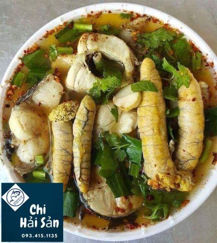 Canh chua trứng cá ngừ